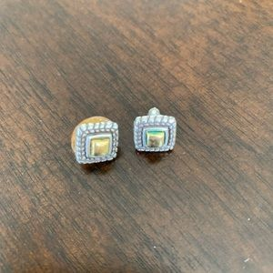 Brighton Sterling and Gold Studs